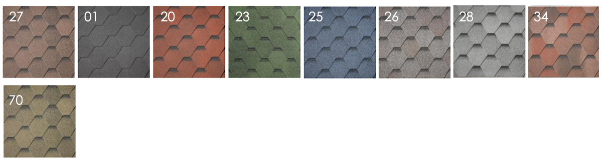 Shield tetőzsindely